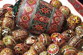 ukrainian egg behold ukrainian easter inedible eggs the salt npr