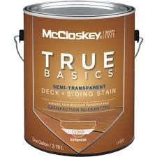 mccloskey true basics semi transparent deck u0026 siding exterior
