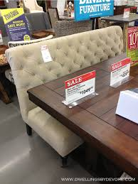Settee At Dining Table Dwellings By Devore Around World Market