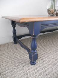 Navy Table L Navy Coffee Table Writehookstudio