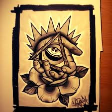 triangle eye tattoo photo 2 photo pictures and sketches