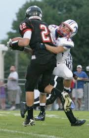 friday night lights ohio central catholic s brandon loader darts down the field during the