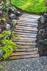 Budget Garden Ideas Diy Pallet Garden Path Project 25 Diy Low Budget Garden Ideas