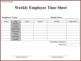 sample time sheet 10 excel timesheet templates free sample