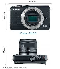 canon m100 review and specs