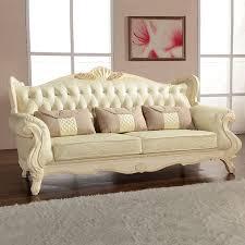 bar canap europe style classique canapé meubles en chêne bois sculpture avec