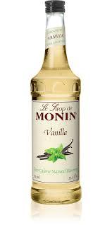 vodka tonic calories zero calorie natural vanilla monin