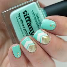 the 25 best mint chevron nails ideas on pinterest chevron nails