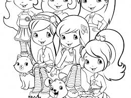 download strawberry shortcake printable coloring pages ziho coloring