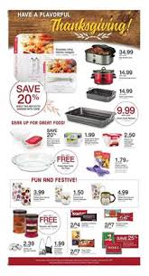 kroger ad thanksgiving deals nov 8 14 2017