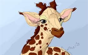 sketch of a giraffe drawings sketchport
