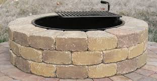 Stone Fire Pit Kit by Fire Pit U0026 Outdoor Kitchen U2014 Luxury Landscape Supply