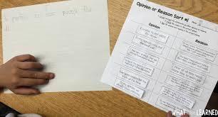 paper with writing on it writing an opinion how we do it in our classroom how do you teach opinion writing we focus on building each part of the opinion