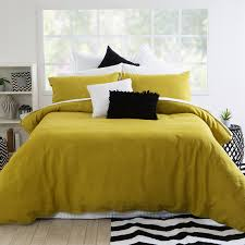 Black And Yellow Duvet Cover The On Trend Colour Of The Past Few Season Has Been Mustard Yellow