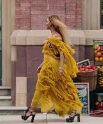 beyonce lemonade yellow dress oshun roberto cavalli