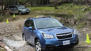 subaru wrx offroad venturing off road in the 2017 subaru forester autotrader ca