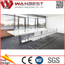 marble conference room table modern artificial marble conference table white meeting table from