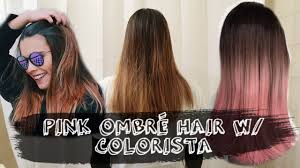 how to pink ombré hair w colorista l u0027óreal fast and easy