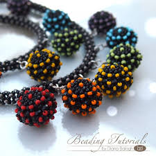 bead necklace bracelet images Beading tutorial candy beaded bead necklace bracelet beading jpg