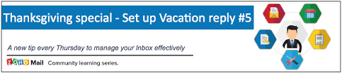 tip 5 thanksgiving special how to set up vacation reply in