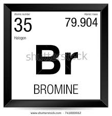 Bromine On The Periodic Table Silicon Symbol Element Number 14 Periodic Stock Vector 741877882