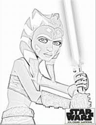 Star Wars The Clone Wars Coloring Pages Printable 312417 Wars Clone Coloring Pages