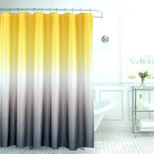 Yellow And Grey Bathroom Ideas L Yellow Grey Light Gray Ruffle Shower Curtain Bathroom Ideas