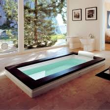 Bathtub Swimming Pool How To Clean And Maintain A Stone Bath Dengarden