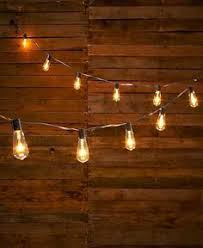 Interior Decorative Lights 25 Outdoor Patio String Light Set G40 Clear Globe Bulbs 28 Ft