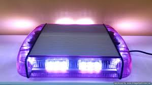 wireless tow light bar purple led funeral emergency warning roof mount light bar wireless