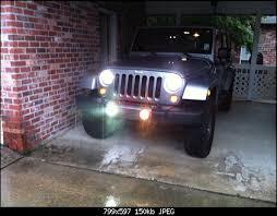 Jk Led Fog Lights Installing New Led Fog Light Bulbs Tonight Jeep Wrangler Forum