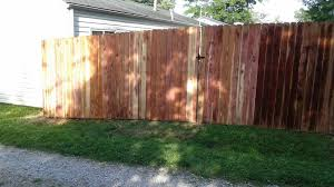 wood fence installation st louis picket u0026 privacy fences