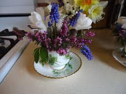 tea cup arrangements for a baby shower that bloomin u0027 garden