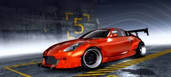 red nissan 350z need for speed pro street nissan 350z nfscars