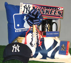 baseball gift basket new york yankees baseball gift baskets sports themed gift basket
