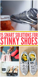 smart solutions for stinky shoes
