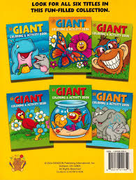 giant coloring u0026 activity book cover may vary not available