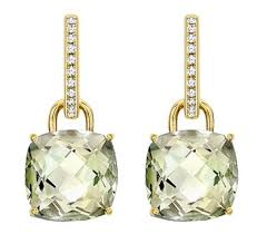 green amethyst earrings catherine s earrings