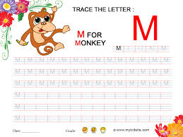 letter m tracing worksheet free worksheets library download and