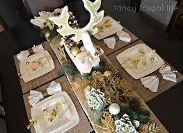 Christmas Deer Table Decorations by Thrift Store Reindeer Makeover U0026 My Christmas Dining Room
