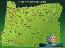 oregon map with cities oregon information guide to oregon com