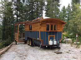 student vardo vardo style tiny house built for college student