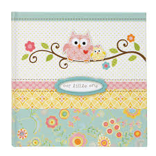 baby photo albums slim bound photo journal album happi baby girl