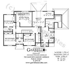 Danforth Manor Carriage House Plan House Plans By Garrell Carriage Style House Plans