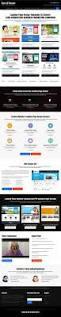 best real estate video responsive lead capture landing page design