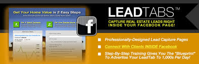 facebook lead capture pages for realtors get 100 listings