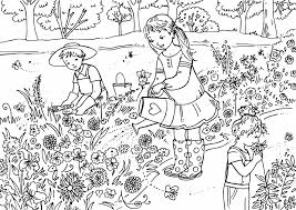 activity village colouring pages funycoloring