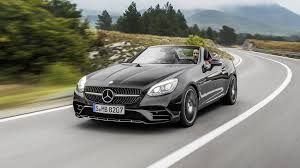 pink mercedes amg 2017 mercedes amg slc43 roadster review