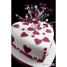 heart shaped wedding cakes heart shaped wedding cake with topper celebration cakes