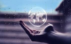 hand glass globe hd wallpaper